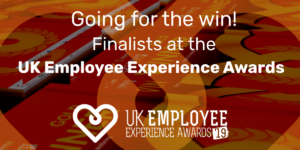 We're finalists in the UK Employee Experience Awards 2019